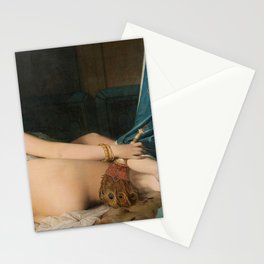 The Grand Odalisque - Jean-Auguste-Dominique Ingres Stationery Cards
