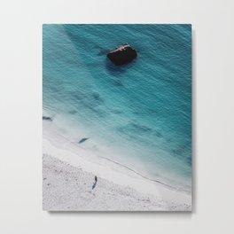 Haukland beach | Lofoten Islands Metal Print