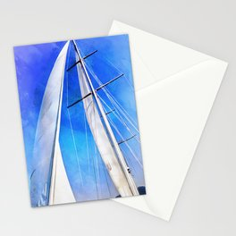 Sailing Unties The Knots Of My Mind Stationery Cards