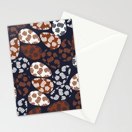 Patched Abstract Floral IV Stationery Cards