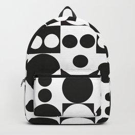 Exaggerated Dots and Circle Backpack