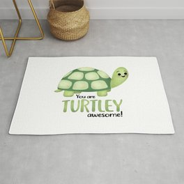 You Are Turtley Awesome! Rug