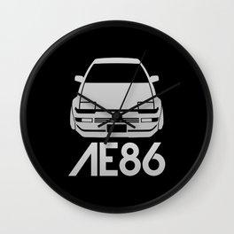 Toyota AE86 Hachi Roku - silver - Wall Clock