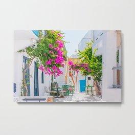 Mykonos, Greece. Metal Print