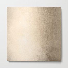 White Gold Sands Metal Print