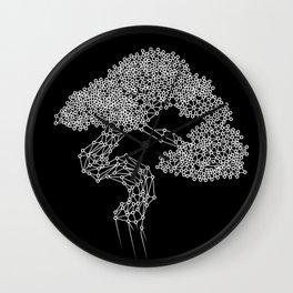 Bonsai vectors 3D Wall Clock