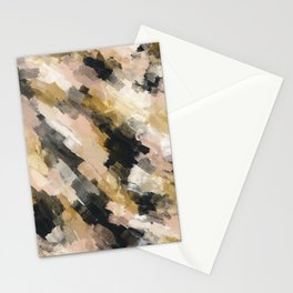 Brush strokes at sunset 12 Stationery Cards