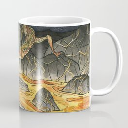 Alice & The Jabberwocky Coffee Mug