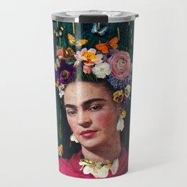 Frida Kahlo :: World Women's Day Travel Mug