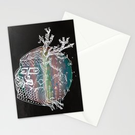 Indian round Stationery Cards