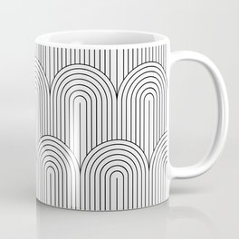 Art Deco Arch Pattern IX Coffee Mug