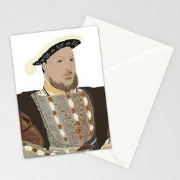 Henry VIII of England - transparent background Stationery Cards