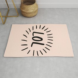Live And Laugh Rug