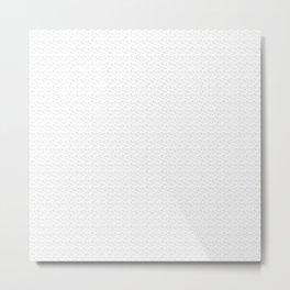 Cracked Leaf Repeat Pattern Metal Print