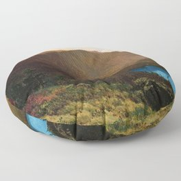 Mount Lafayette - Franconia Notch, New Hampshire by Thomas Hill Floor Pillow