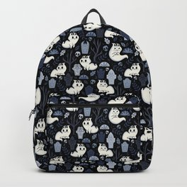 Ghost Cats in the Cemetery Backpack