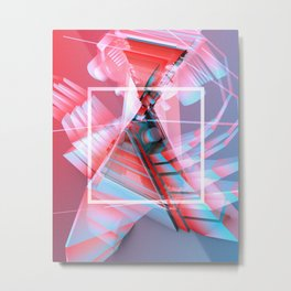 FORM #1 Metal Print