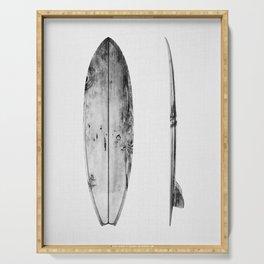 Surfboard Serving Tray