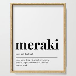 Meraki Serving Tray