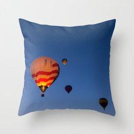 Morning Launch Throw Pillow