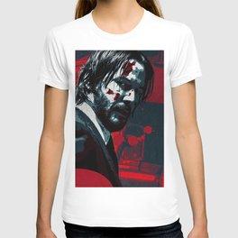 John Wick illustration  T-shirt