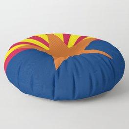 Arizona State flag Floor Pillow