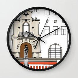 Colegio Santa Rosa de Lima -Detail- Wall Clock