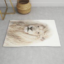 White Lion Rug