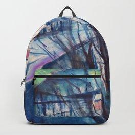Edvard Munch - Winter Night, Ekely - Digital Remastered Edition Backpack