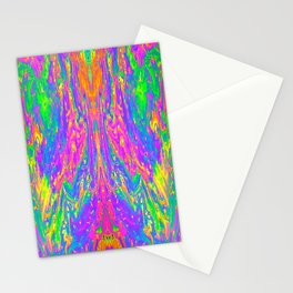 Psychedelic Spill 15 Stationery Cards