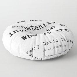 78   | Henry David Thoreau Quotes  | 190715 | Floor Pillow