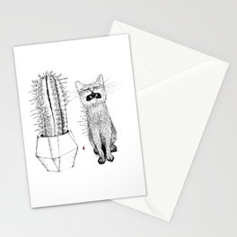 Cactus-Hugger Stationery Cards