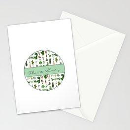 Plant Lady Confetti  Stationery Cards
