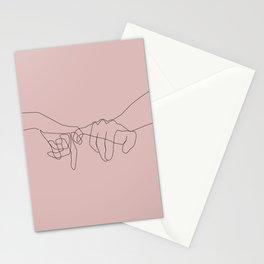 Blush Pinky Stationery Cards