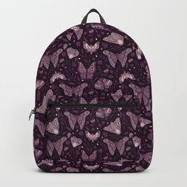 Purple Moths Backpack