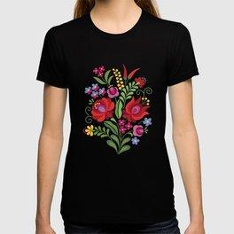 Hungarian Folk Design Red Peppers T-shirt