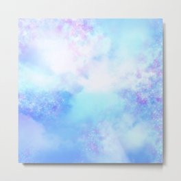 Aesthetic Sky Outer Space Retro Design Metal Print