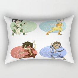 Earth Air Fire Water Rectangular Pillow