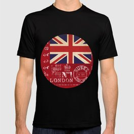 Union Jack Great Britain Flag T-shirt