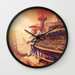 Rocket League Stadium Wall Clock