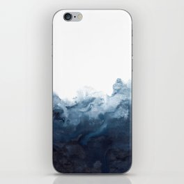 Indigo Depths No. 2 iPhone Skin