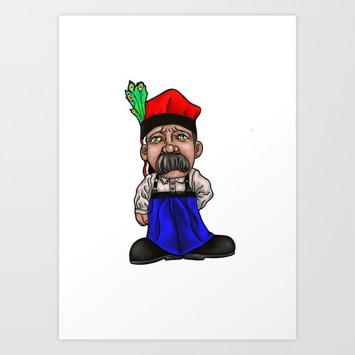 Stashoo Art Print