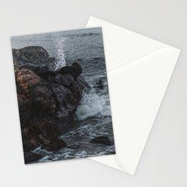 Crashing Waves - Marginal Way, Ogunquit, Maine Stationery Cards