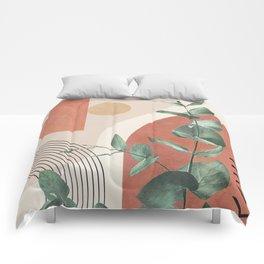 Nature Geometry IV Comforters