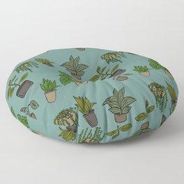 Indoor Plants Floor Pillow