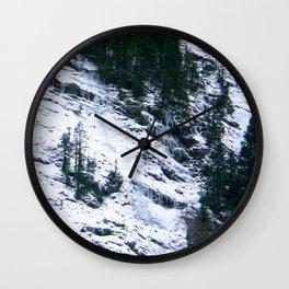 White Ravine Wall Clock