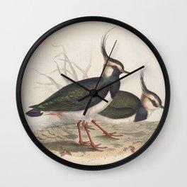 LAPWING (2) Wall Clock
