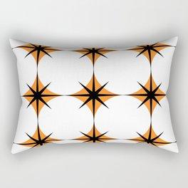 Repeat Orange Rectangular Pillow