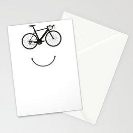 Bicycle mountain bike road bike MTB gift idea Stationery Cards