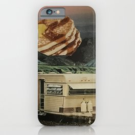 Breakfast with a View iPhone Case
